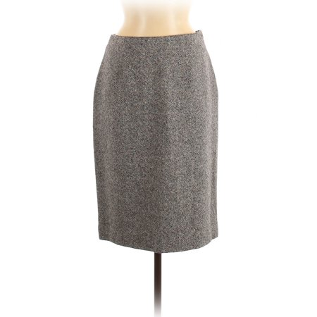 Pre-Owned Jones New York Women's Size 8 Wool Skirt