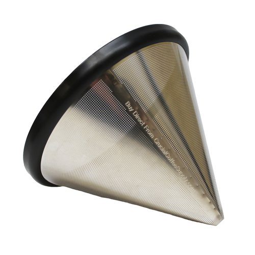 Crucial Washable and Reusable Steel Coffee Filter