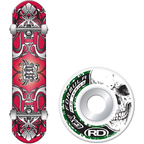 Roller Derby Skate Corp Roller Street Series Skateboard, Redtail