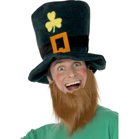 Silly Leprechaun Hat with Beard