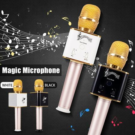 Handheld Magic Karaoke Home KTV Player Portable Wireless Voice Switching with Mic Speaker