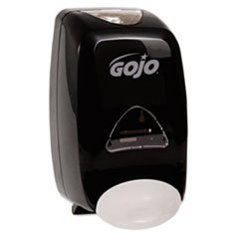 GO-JO INDUSTRIES 515506 FMX-12 Soap Dispenser, 1250mL, 6 1/8w x 5 1/8d x 10 1/2h, Black
