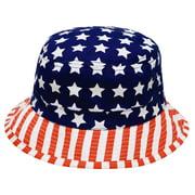 ec3f6b6d918 City Hunter Bd1220 American Flag U.S.A Bucket Hats