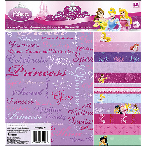 EK Success Disney Paper Pad, Disney Princess
