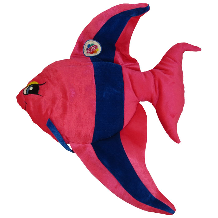- New Stuffed Animal BABY ANGEL FISH Pink - 22 inches Generic Value Plush