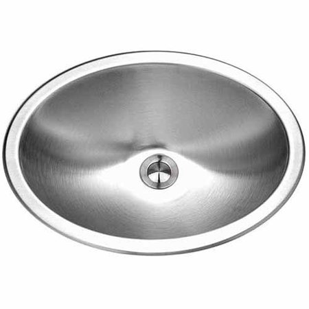 Houzer CHT-1800-1 Opus Series Topmount Stainless Steel Single Bowl Lavatory Sink