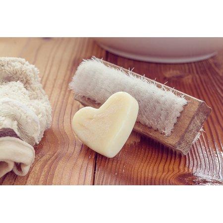 Handprint Heart (Canvas Print Washcloth Hand Brush Soap Heart Soap Wash Brush Stretched Canvas 10 x)