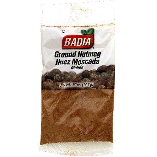 Badia Ground Nutmeg, 0.5 oz (Pack of 12) by Generic