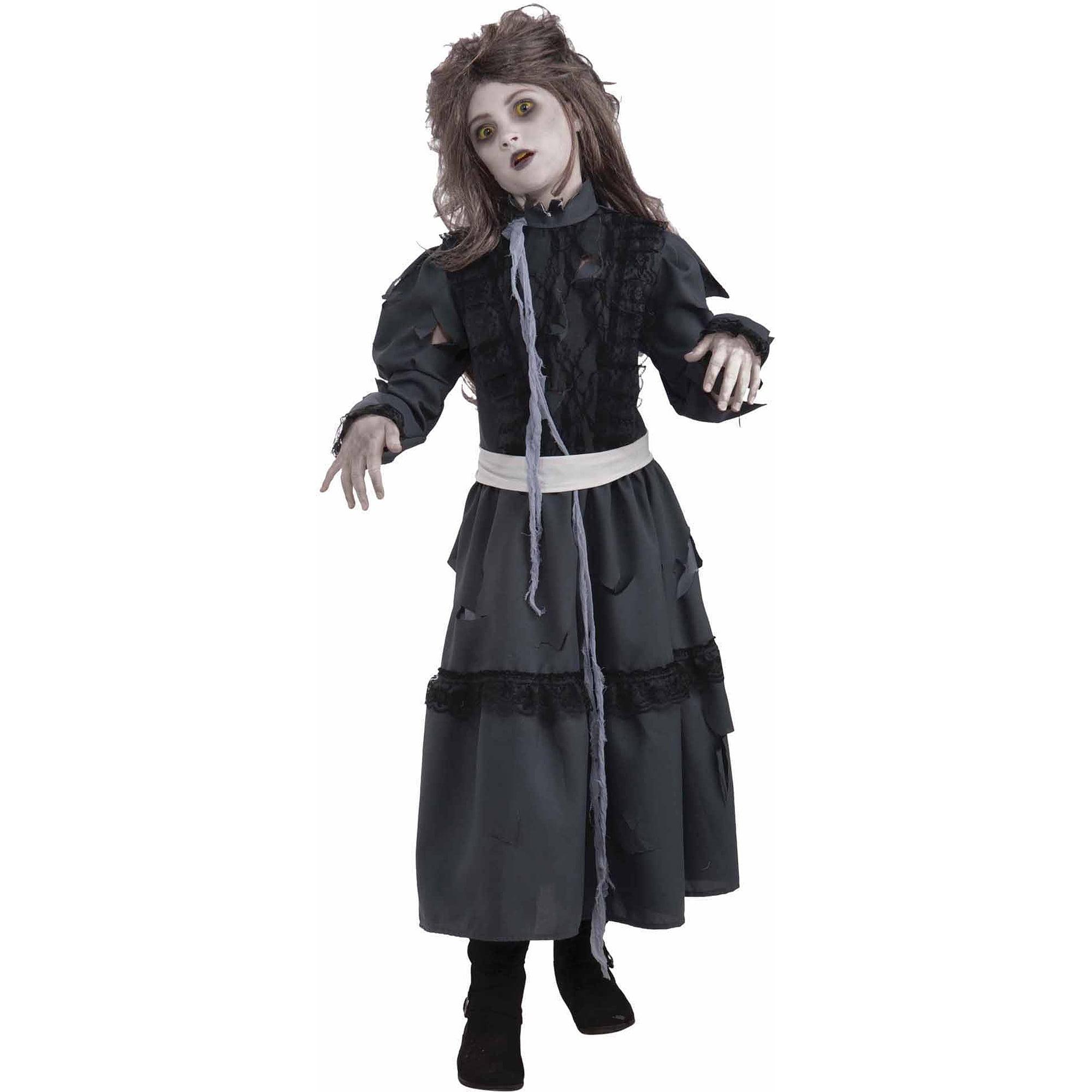 sc 1 st  Walmart & Zombie Girl Child Halloween Costume - Walmart.com