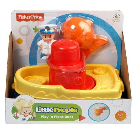 Little People Play 'N Float Bath Boat - Little Man In The Boat