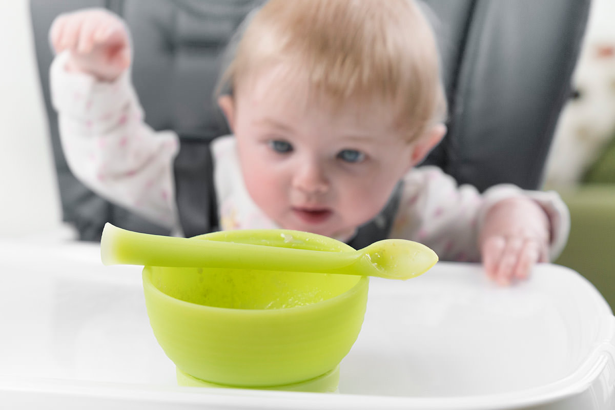 Olababy 100/% Toxin-Free Silicone Steambowl Heat-Safe Baby Food Steamer Bowl