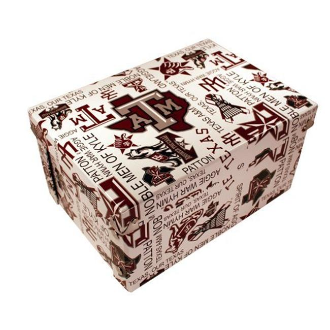 Sport Collectors Guild TexasAMBoxxer Texas A&M designs on a collapsible gift box