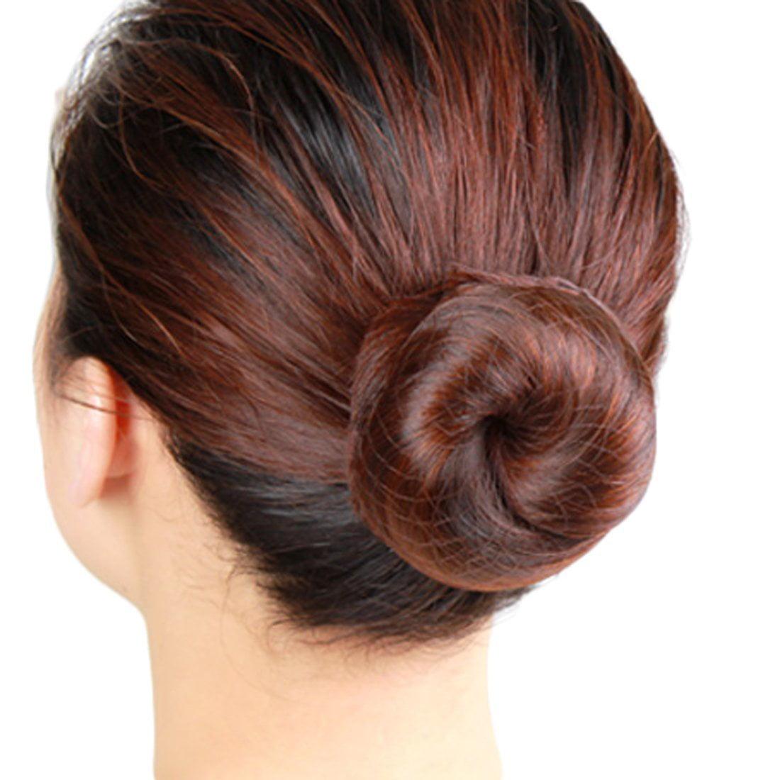 Bulk Packing,Brown 50pcs Hair Nets Invisible Elastic Edge Mesh 20 Inches 50cm