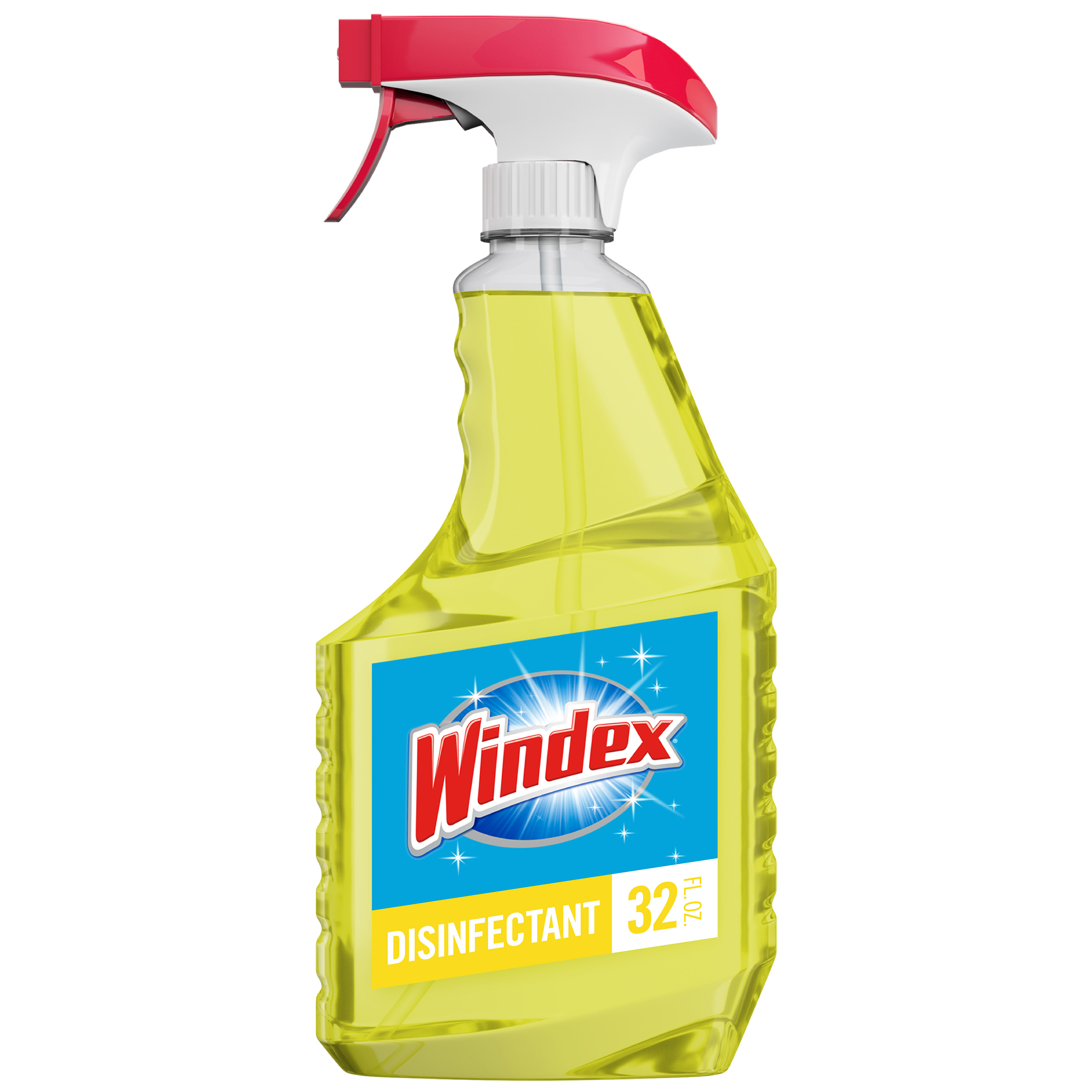 Windex Multi-Surface Disinfectant Cleaner Trigger Bottle, Citrus, 32 fl oz