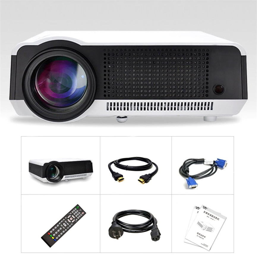 5000 Lumens Full HD 1080P LED86 LCD 3D WIFI Home Theater Projector Cinema