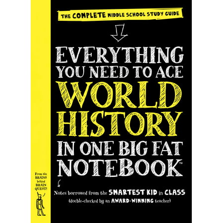 One Fat (Everything You Need to Ace World History in One Big Fat Notebook - Paperback )