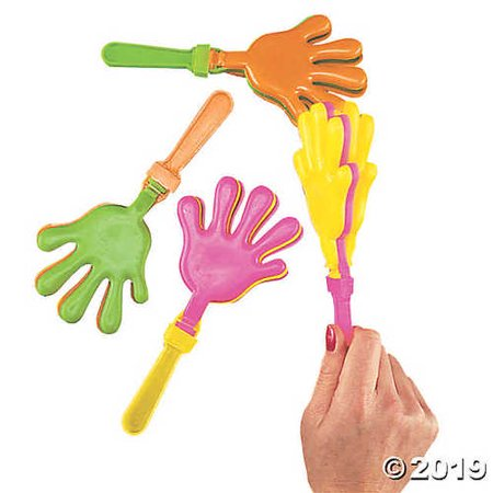 Hand Clappers Noisemakers (Colorful Hand Clappers)
