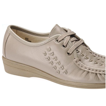 d722de6234053 Softspots BONNIE LITE Womens Taupe Comfort Lace Up Walking Shoes