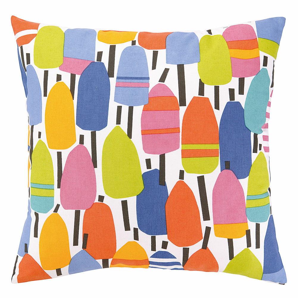 Kate Nelligan Buoys Indoor / Outdoor Throw Pillow