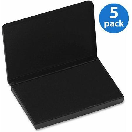 (5 Pack) CLI, LEO92420, Stamp Pad, 1 Each, Black