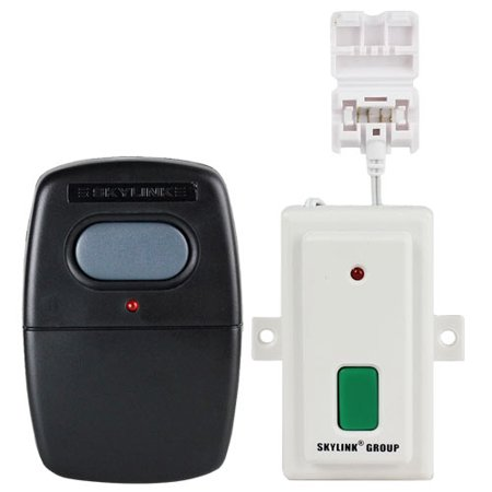 Skylink Smart Button Garage Door Opener & G6V Visor Clip Remote Kit (GBRV)