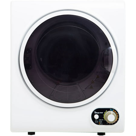 Magic Chef 1.5 cu ft Compact Dryer, White (Washer And Dryer Sets For Small Spaces)