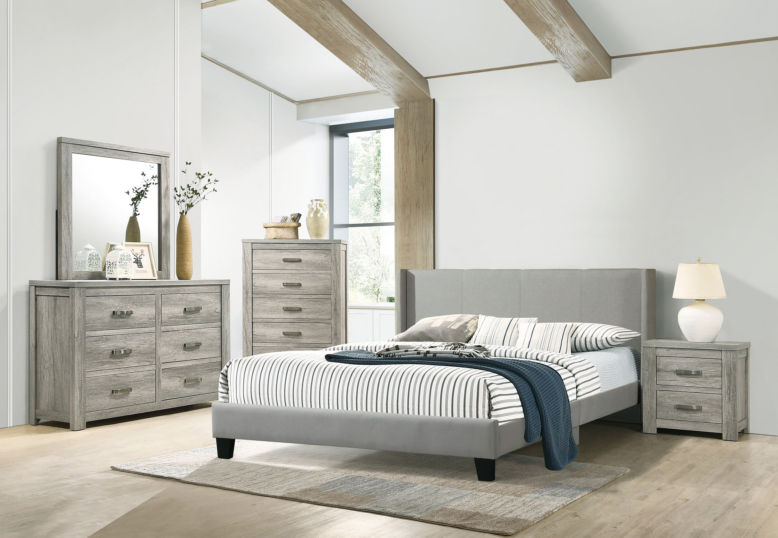 bedroom furniture 4pc set quality and beautiful eastern