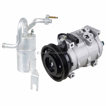 AC Compressor w/ A/C Drier For Chrysler PT Cruiser 2004 Chrysler Cirrus A/c Compressor