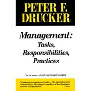Management : Tasks, Responsibilities, Practices