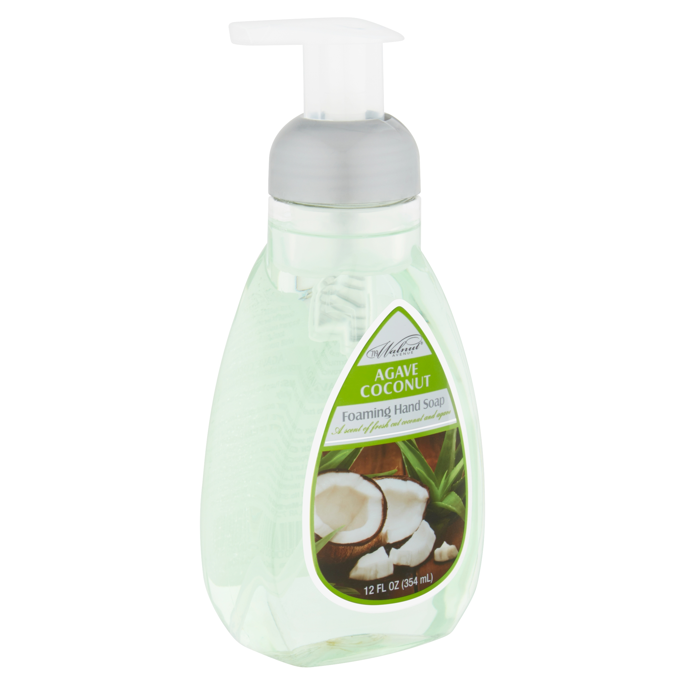 719 Walnut Avenue Agave Coconut Foaming Hand Soap, 12 fl oz