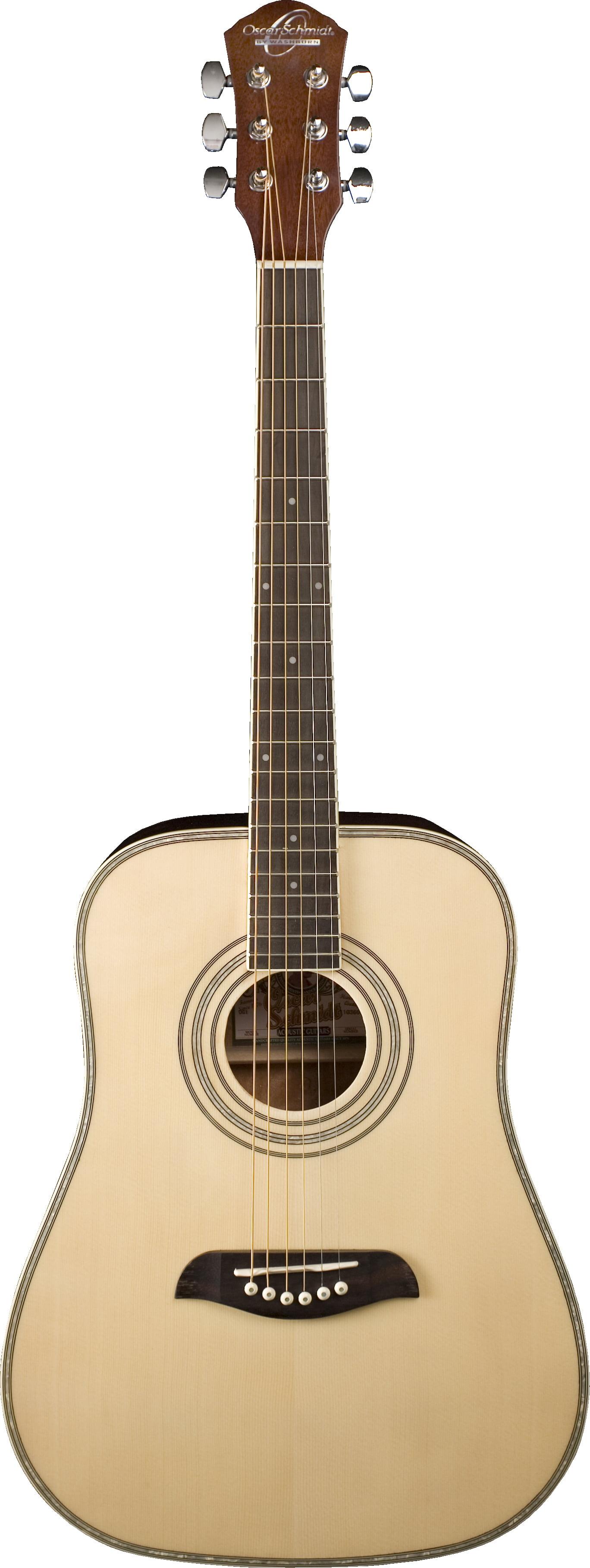 Oscar Schmidt OG1 3 4-Size Acoustic Guitar Natural by KMC Music