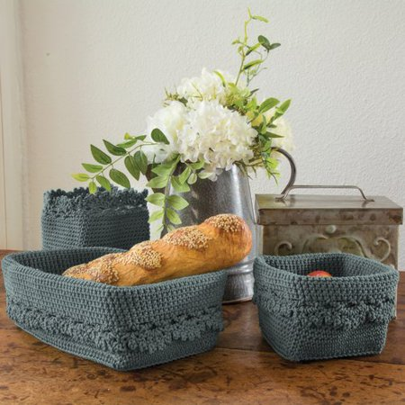 Heritage Lace Mode Crochet Trim Plastic - Crochet Halloween Basket