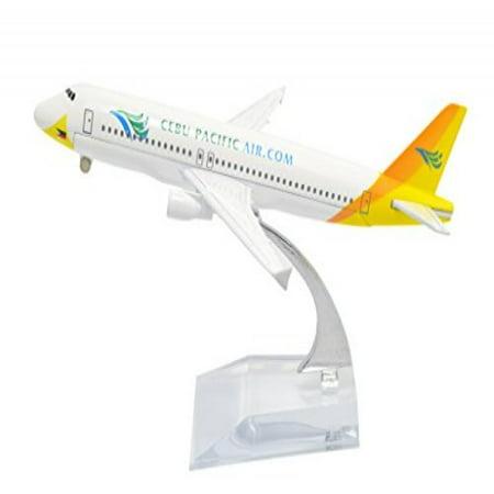 TANG DYNASTY(TM) 1:400 16cm Air Bus A320 Cebu Pacific Airline Metal Airplane Model Plane Toy Plane Model