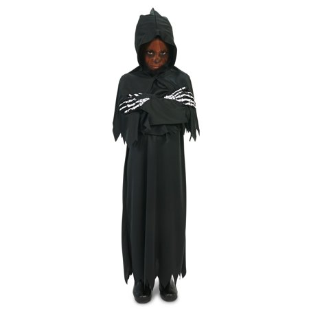 Hooded Grim Reaper Child Costume - Grim Reaper Decorations