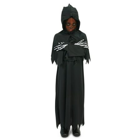 Hooded Grim Reaper Child Costume](Female Grim Reaper Costume)