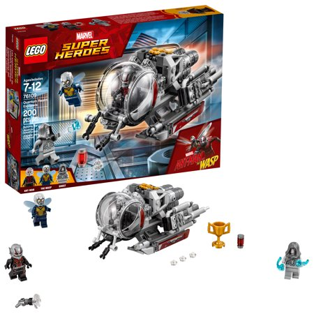 LEGO Marvel Super Heroes Ant-Man and The Wasp Quantum Realm Explorers 76109