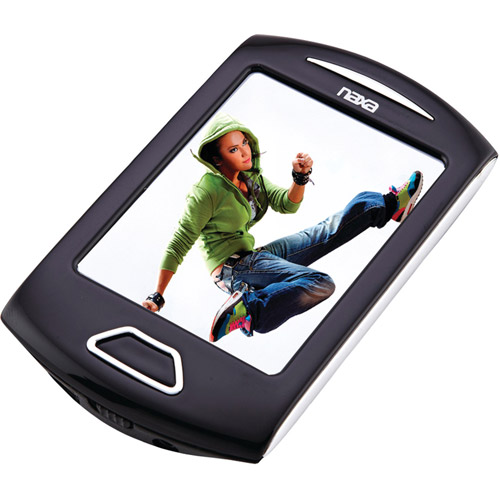 "Naxa 4GB 2.8"" Touchscreen Portable Media Player,  NMV179"