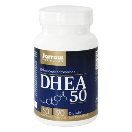 Jarrow Formulas DHEA, Supports Energy, 50 mg, 90 Caps