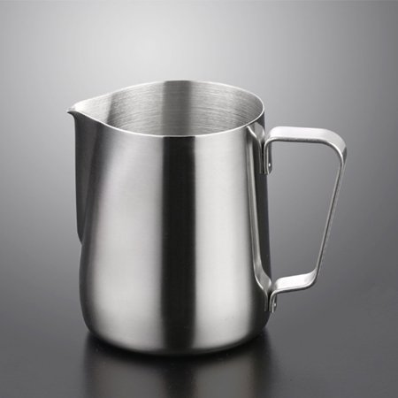 - Milk Jug Frothing Stainless Steel Container Pitcher Coffee Latte