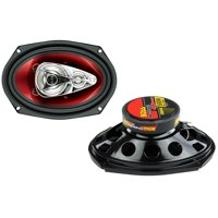 "2) New BOSS Chaos CH6940 6x9"" 500W 4-Way Car Coaxial Audio Stereo Speakers PAIR"