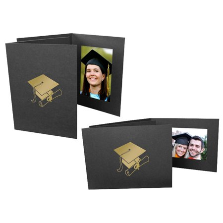 Graduation Photo Folders For 4x6 - Vertical (25 Pack) - Graduation Album