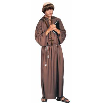 COSTUME-ADULT MONK ROBE - Costums For Men