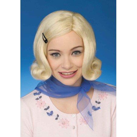 Womens 50s Bopper Blond Wig - image 1 de 1