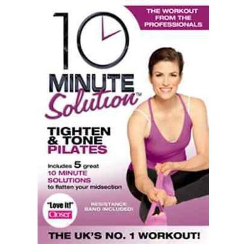 Image of 10 Minute Solution: Tighten & Tone Pilates (Resistance Band Included)