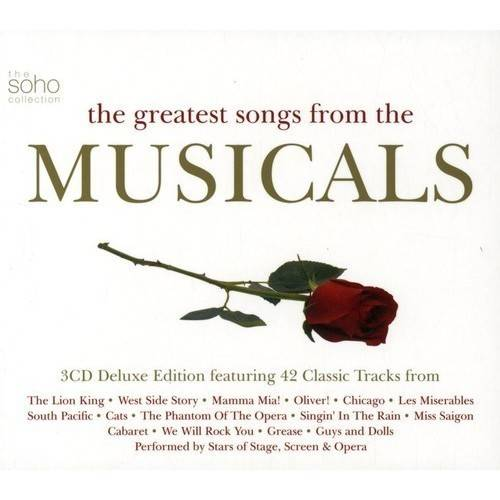 GREATEST SONGS FROM THE MUSICALS / VARIOUS