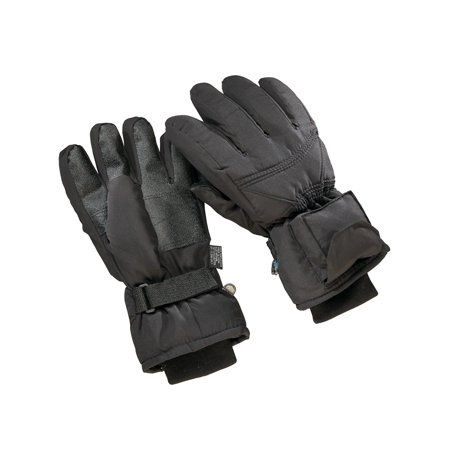Battery Operated Heated Gloves, Mens, Black