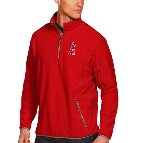 Los Angeles Angels Antigua Ice Polar Fleece Jacket Red by