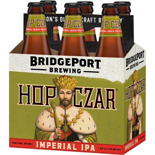 Bridgeport Hop Czar Imperial IPA, 6 pack, 12 fl oz