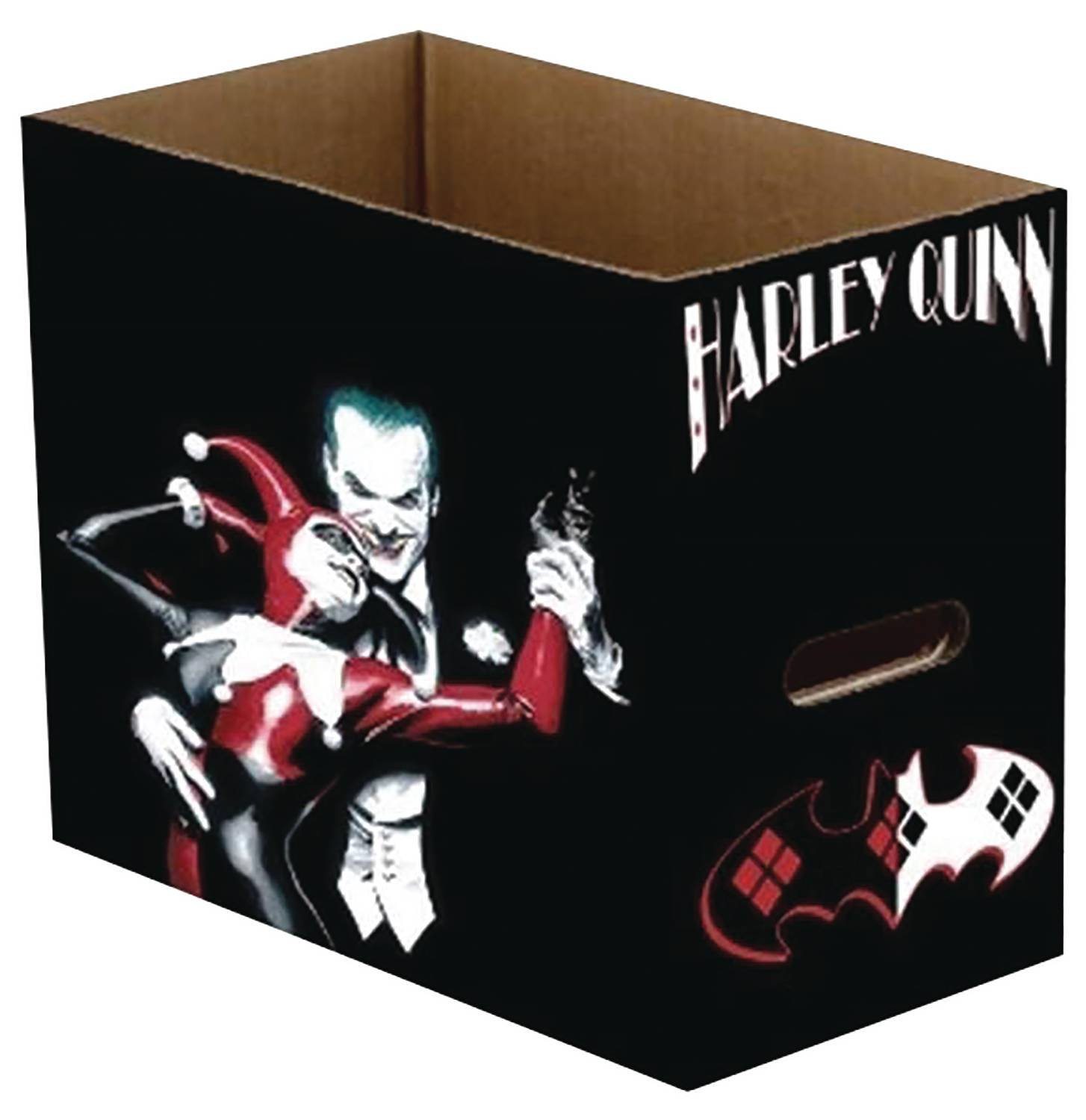 DC Comics Joker and Harley Quinn Short Comics Storage Box by Diamond Comics Distribution