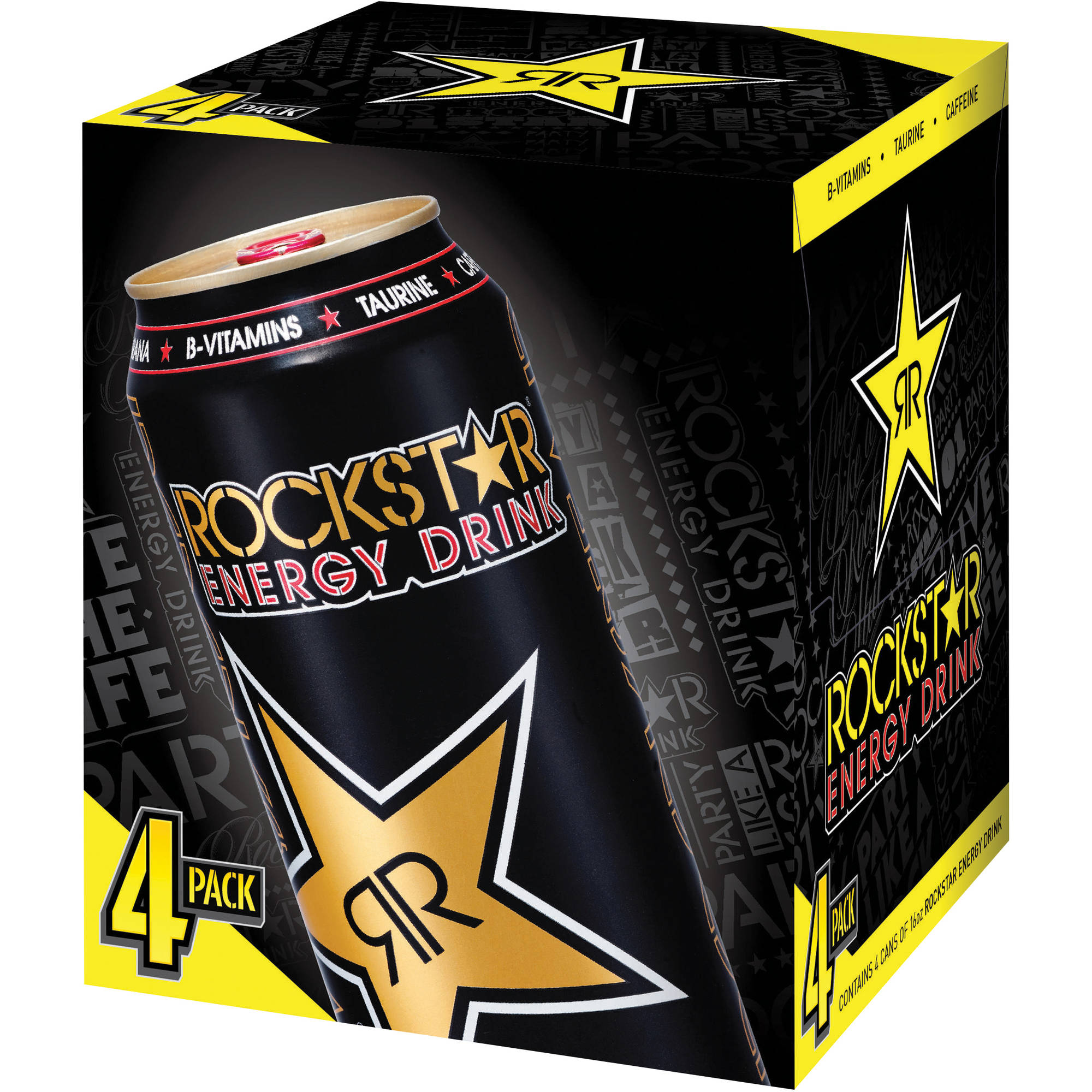 ROCKSTAR Original Energy Drink, 16 fl oz, 4 pack